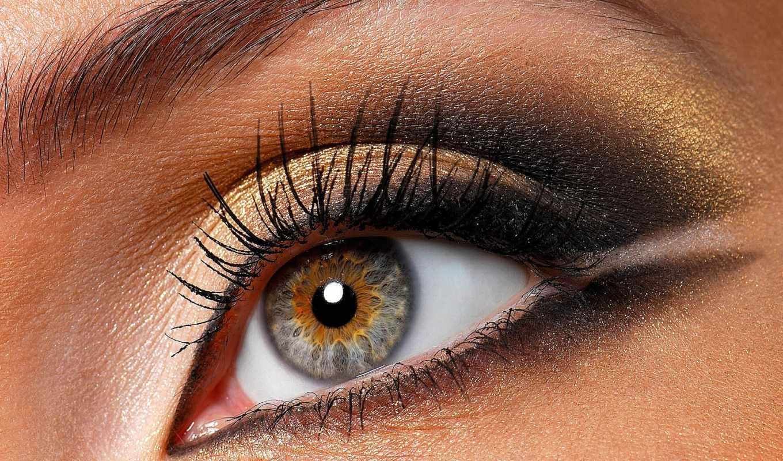макияжа, глаз, уроки, макияж, video, красивый,