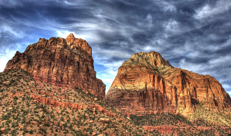 and, wallpapers, wallpaper, zion, الصورة, desert, black, mountain, изображение, hd, природа, to, картинку, rock, best,