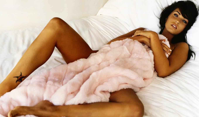 megan, fox, одеяло, загар, transformers, кровать, модель, would, актриса,