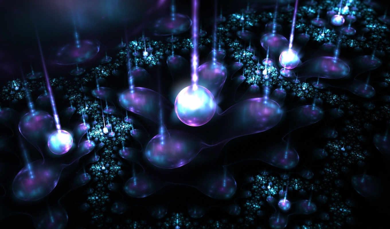 магия, свет, цветы, абстракция, графика,