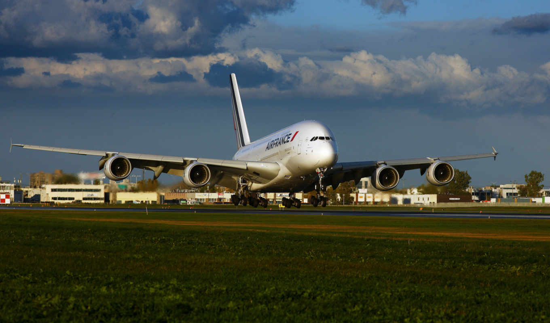 air, france, airbus, картинка, лайнер, самолёт,