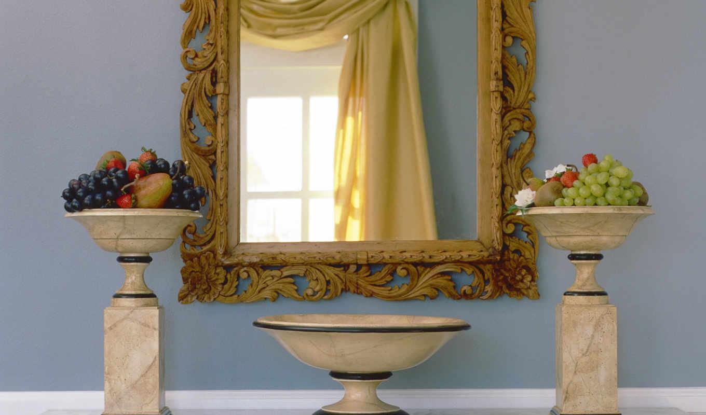 ванная, стиле, дизайн,