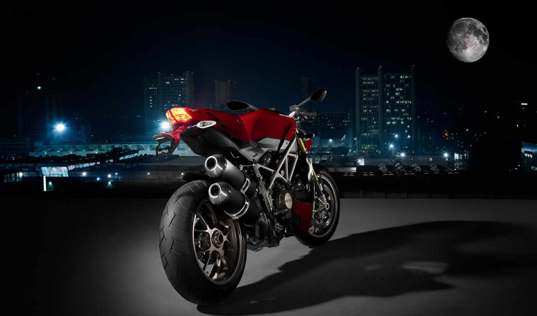 ducati, мотоциклы, мото, мотоцикл, мотоциклов, ночь, bike, дукати,