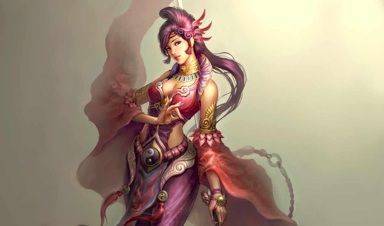 женский, taoist, desktop, fantasy, free, mobile,