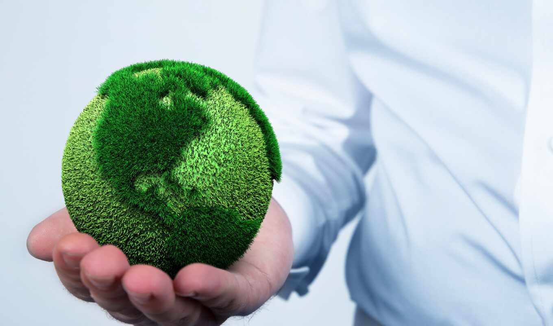 экология, land, arm, environmental, planet, мяч, мужчина