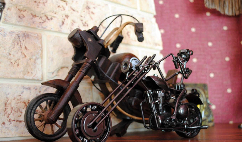 интерьер, мотоциклы, конструкции, картинка, motorcycles, retro, motorcycle, interer,