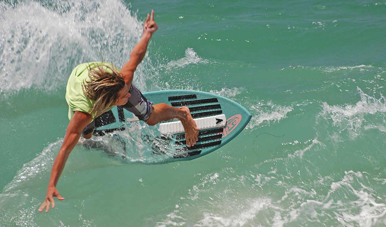 океан, skimboard, laguna, волны, серфер, beach, рисунки, популярные,