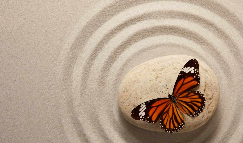 скалы, zen, stock, фото, камень, спа, клипарт, песок, бабочка, фоны, растровый,