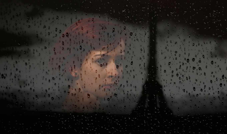 девушка, нов, дождь, glass, daily, tags,