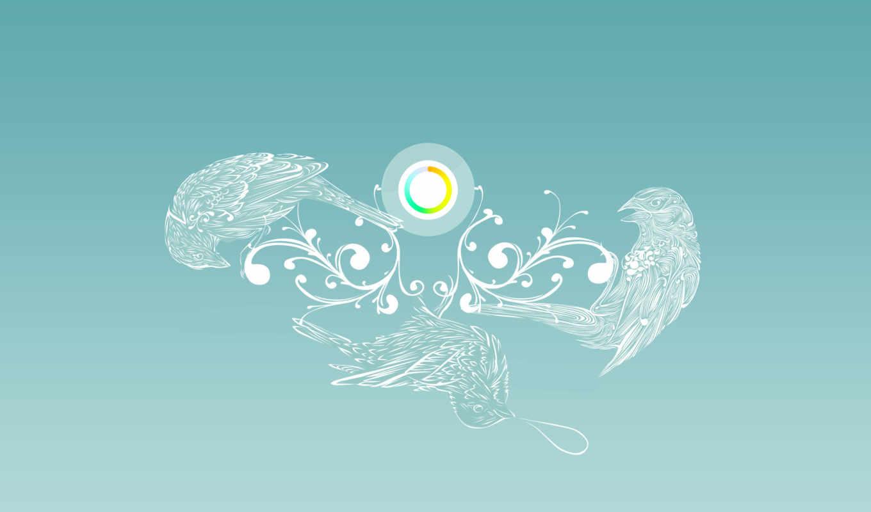 птицы, круг, wallpaper, картинка, circe, other, gaia,