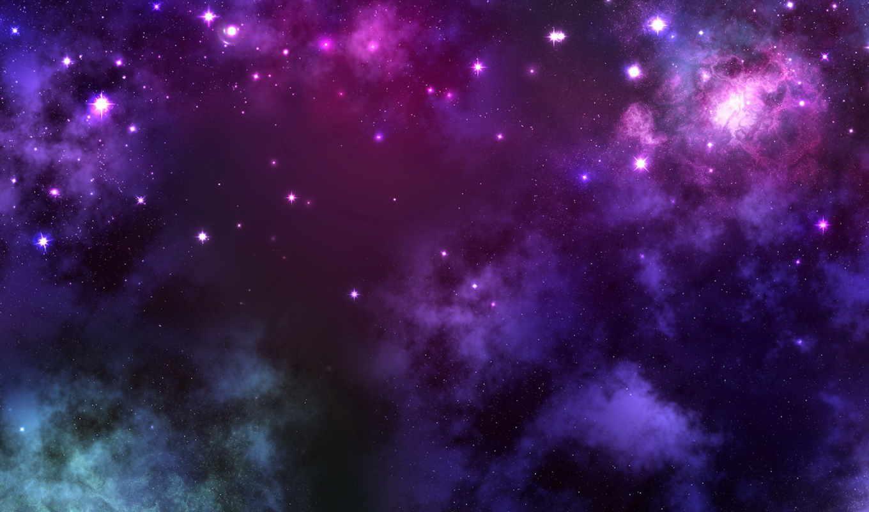 digital, art, space, звезды, облака, энергия,