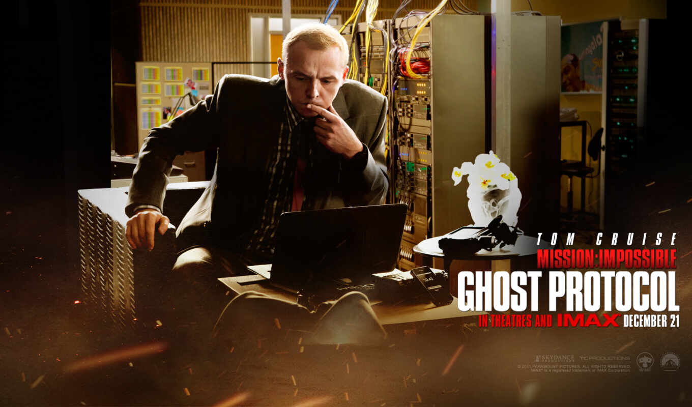 desktop, movie, ghost, impossible, simon, mission, pegg, protocol,