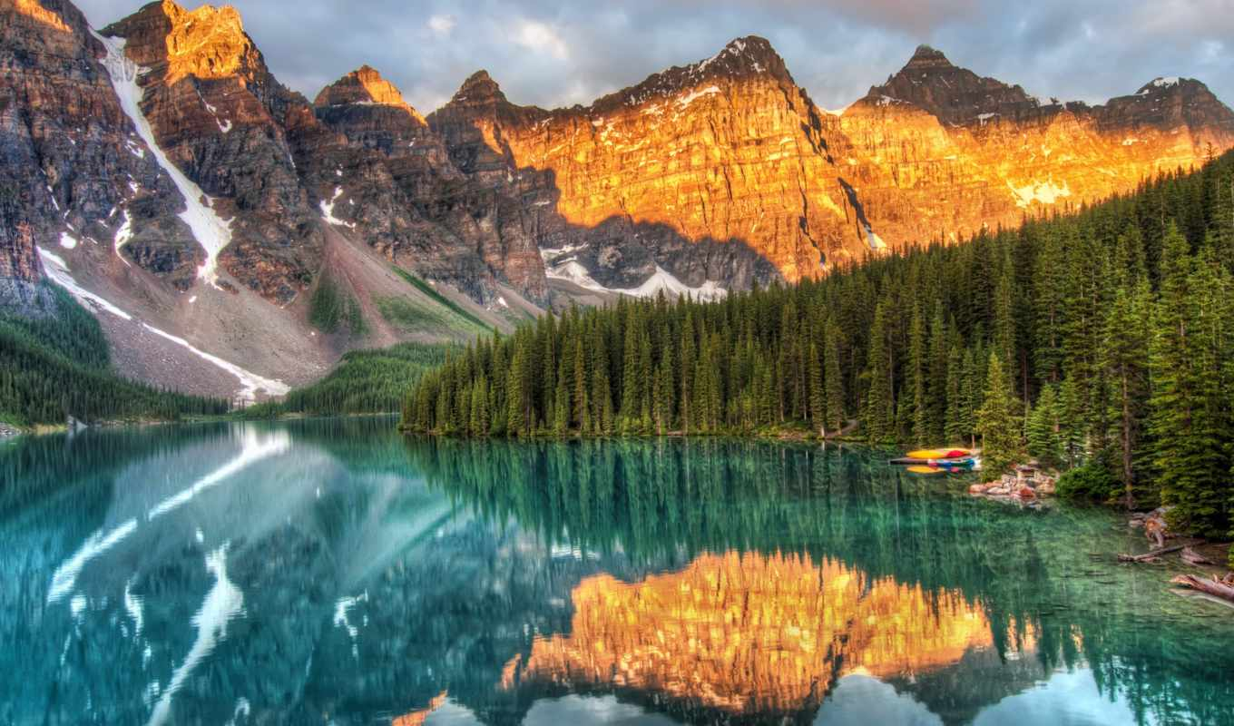 national, park, banff, озеро, флот, zazzle,