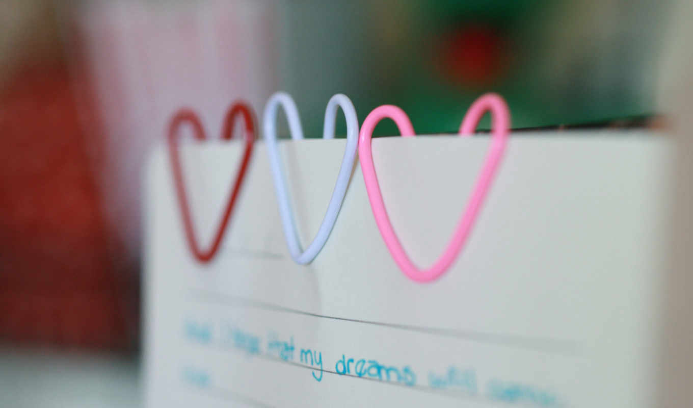 heart, paperclip, love, red, download,