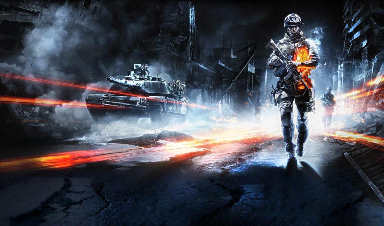 battlefield, бой, игры, game, фоны, солдат, картинка, оружие,
