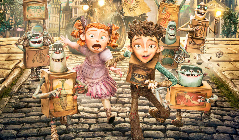 семейка, монстров, cartoon, мультики, boxtrolls, они, жизни, под, книга, монстры,