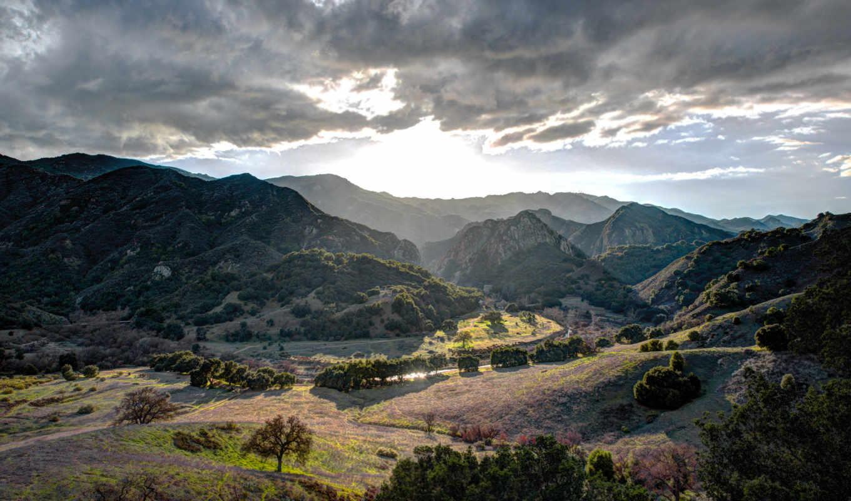 красивые, пейзажи -, мар, природы,
