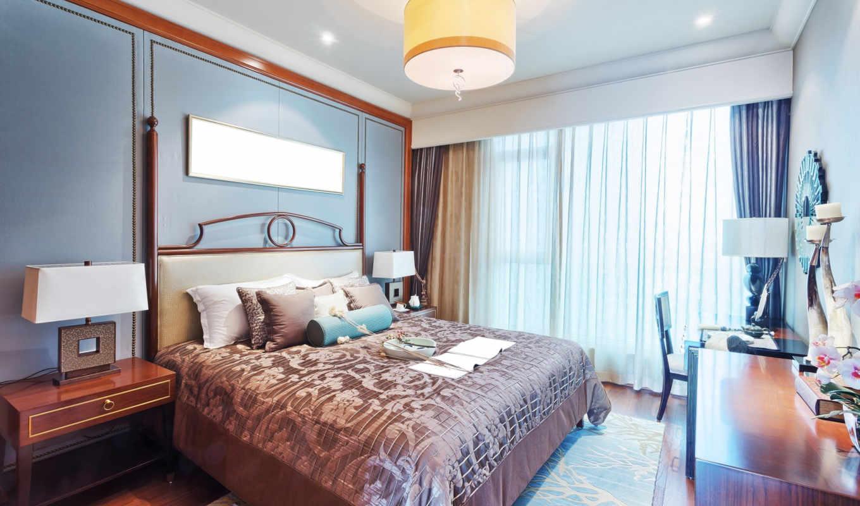 интерьер, дизайн, спальня,