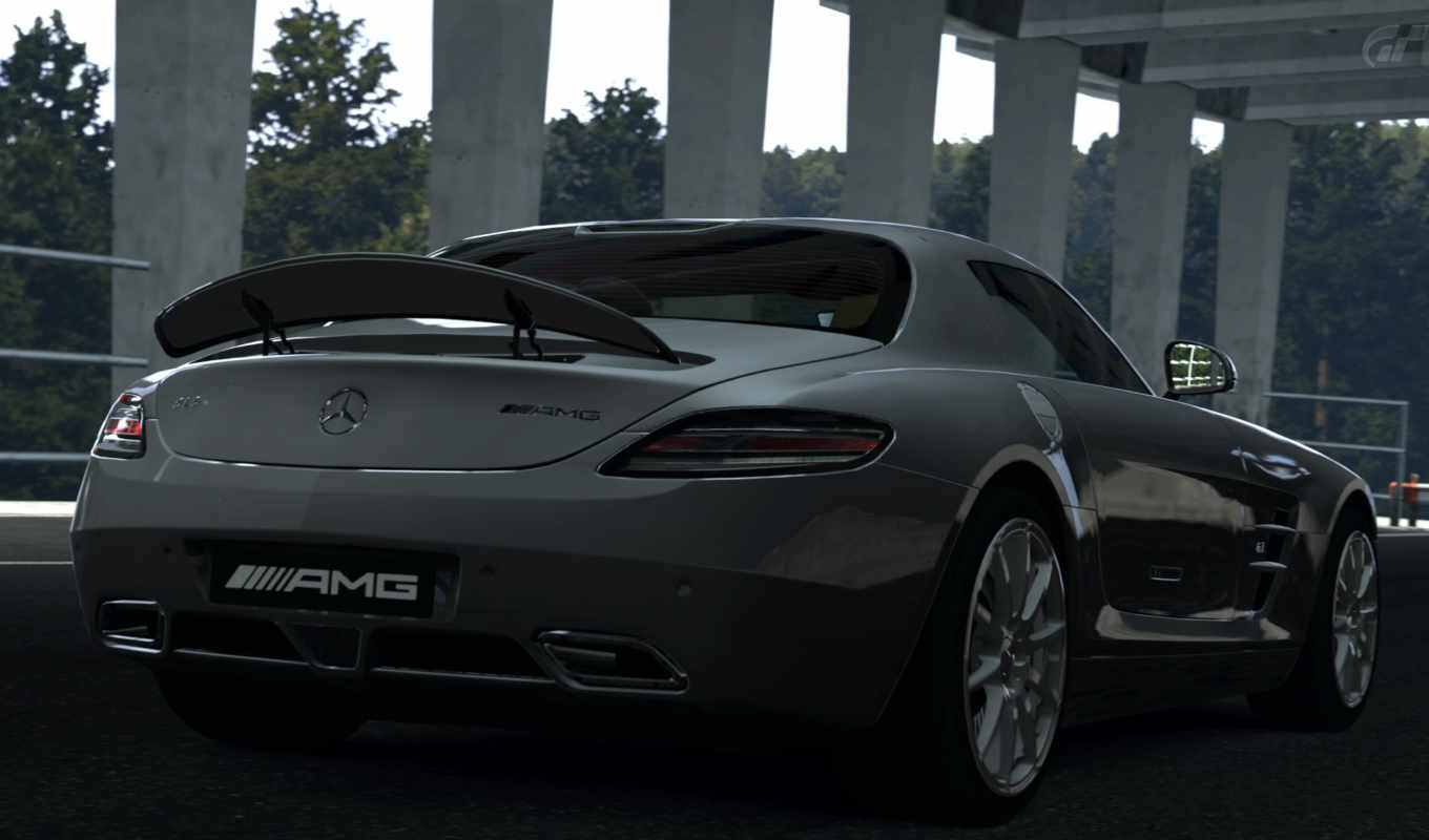 cars, gran, games, turismo, video, mercedes, vehicles, ferrari, июня, sls, free,
