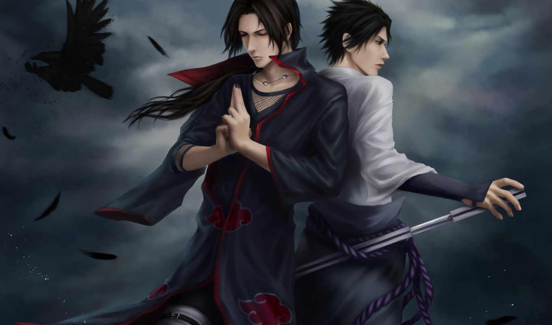 итачи, art, учиха, naruto, zetsuai, sasuke, саске,