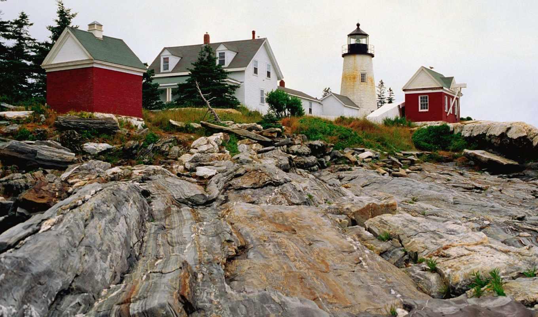 point, pemaquid, свет, lighthouse, мэн, montauk,