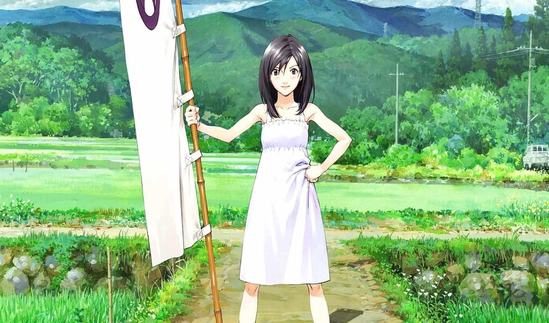 anime, summer, wars, девушка, natsuki, shinohara, brunette, manga, animegirl,