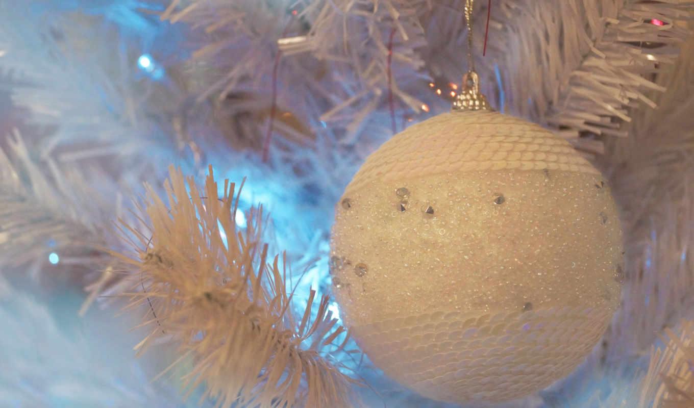 дерево, мяч, toy, new, год, navidad, ветки,