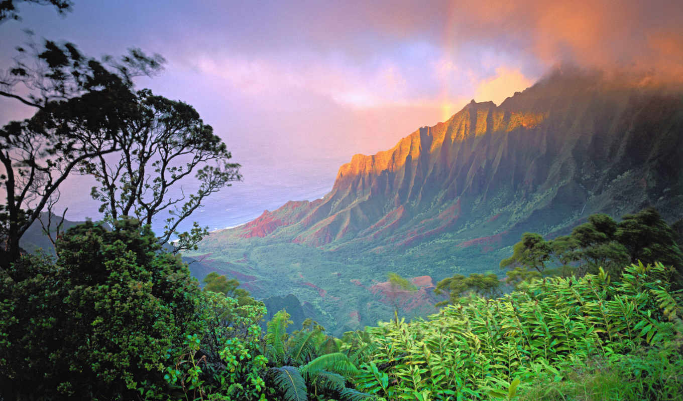 landscape, earth, this, природа, share, desktop, фон, hawaii,