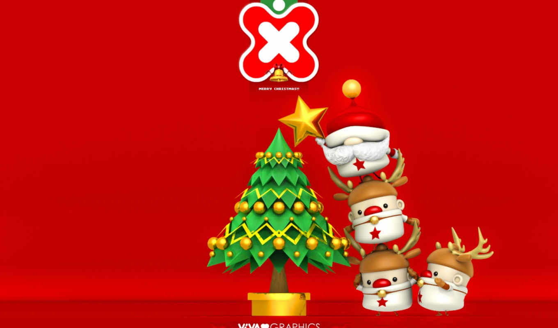 christmas, illustration, new, year, photos, merry,