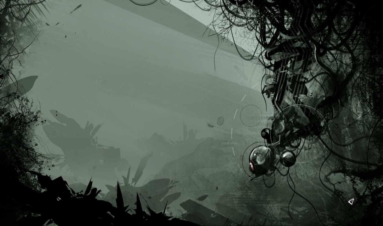 portal, игра, абстрактный, узор,