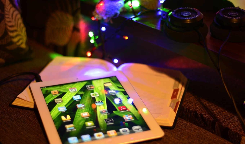 планшет, ipad, apple,