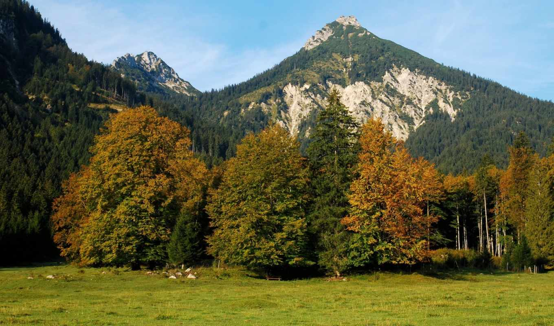 горы, картинка, природа, landscape, альпы, австрия,