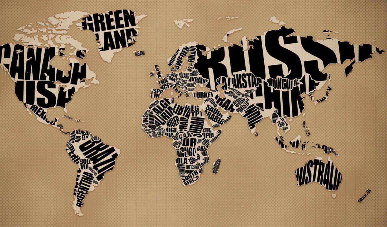 карта, world, страны, typographic, текст, континенты, печать, нравится, iphone, iamboredr,