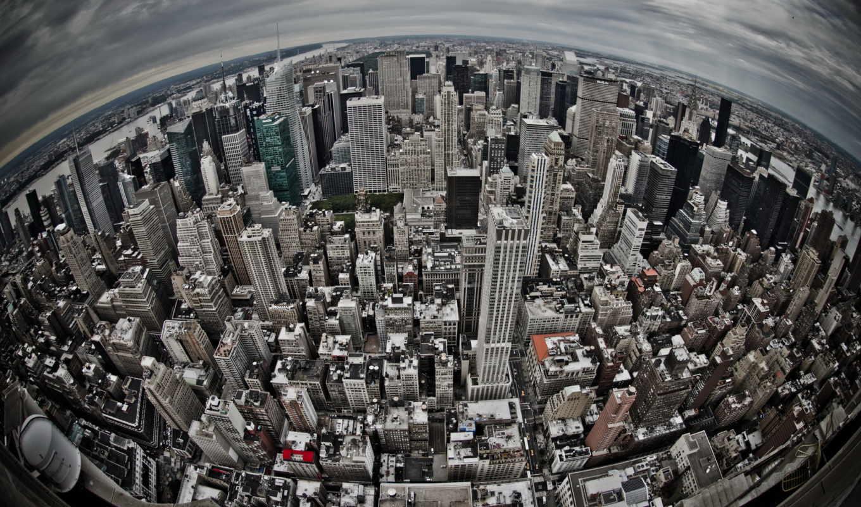 new, york, fish, глаз, hdr, город, nyc, взгляд, сказочный,