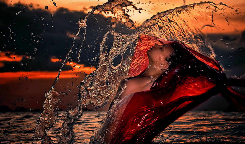 девушки, фотограф, lydia, арефьева, красивых, подборка, девушек, цитатник, стена, willyam, пляж, категория, море, закат,