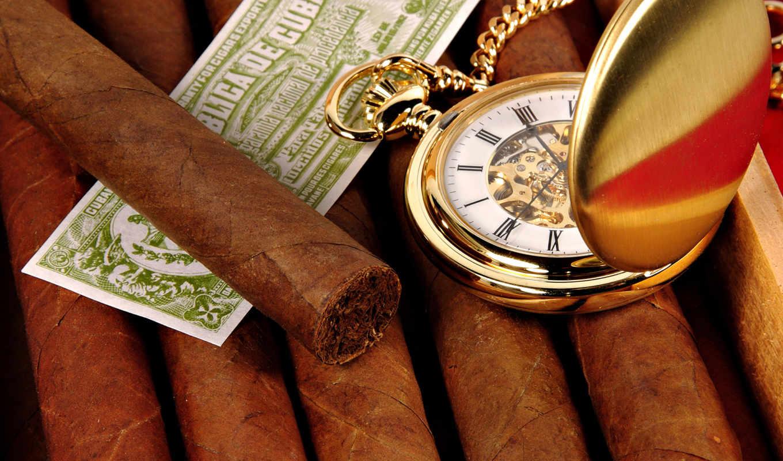 sigara, сигары, часы,