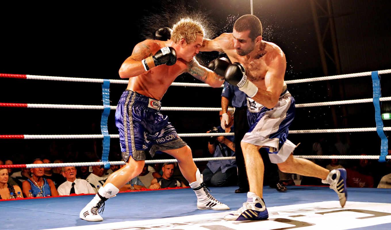 ринге, боксерском, boxing, бокс, ринг, удар, вернуться, поделиться, перчаткой, картинку, брызги, уклон, изображения, мужчины,