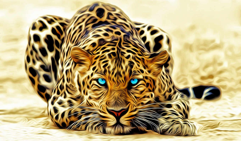 zhivotnye, леопард, jaguar,
