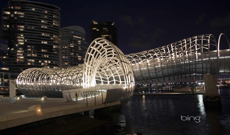 melbourne, австралия, webb, мост, мельбурна, достопримечател, desktop, широкоформатные,