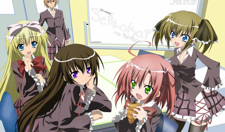 ichizon, seitokai, anime, miku, нового, новый, aic, nuevo, дата, за, сезона, ранобэ, studio,