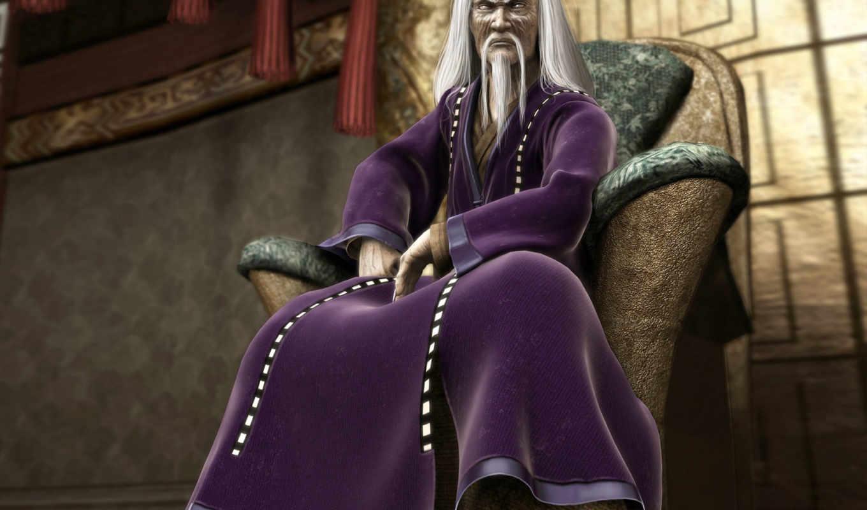 mortal, kombat, shang, tsung, shaolin, monks, wizard, from, mk,