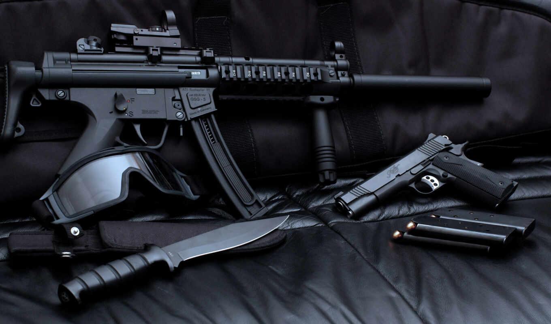 оружие, нож, магазин, пистолет,