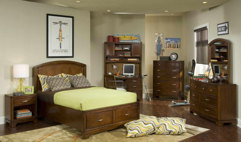 мебель, спальня, комната,