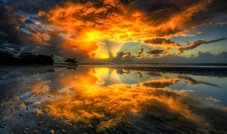 отражение, spectacular, free, desktop, full,