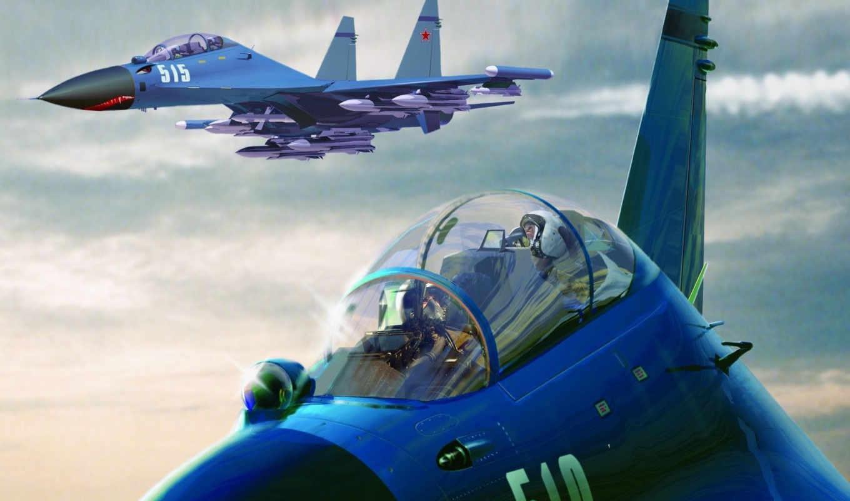mig, пилот, истребитель, рождения, sukhoi, су, днем, миг, самолёт, микоян, отправить,