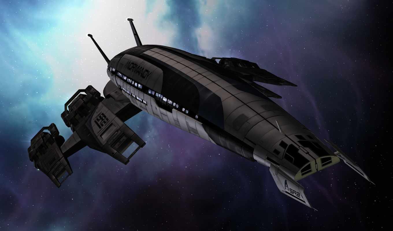 космос, масс, эффект, нормандия, корабль, картинка, картинку,