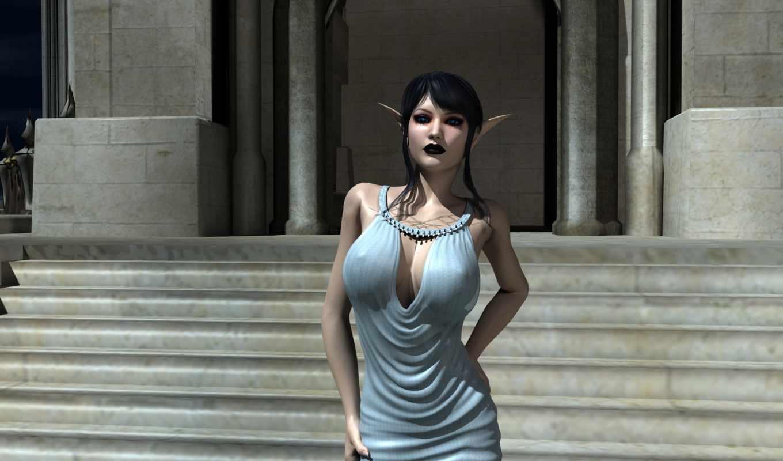 Elf fantasy 3d sexy scenes
