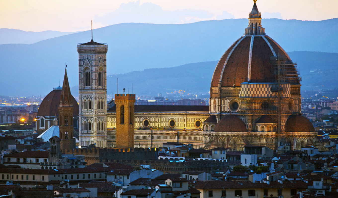город, italy, florence,