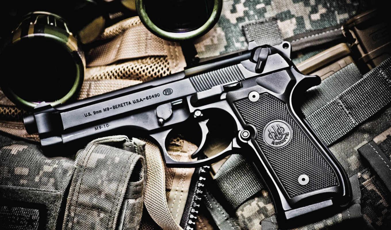 беретта, oruzhie, пістолет, мм, калибра,
