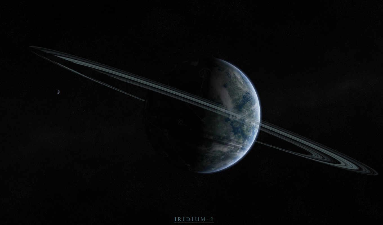 луна, планеты, спутник, planet, кольца, cosmos, deviantart, звезды, iridium,